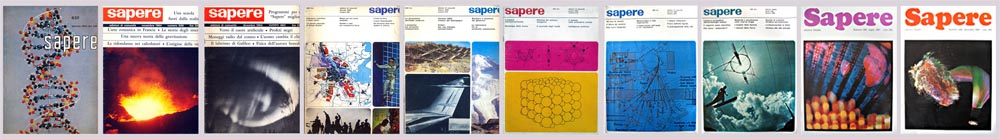 Sapere: fascicoli del quinquennio 1963-67.